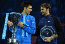 Djokovic and Roger Federer