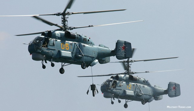 Kamov helicopters