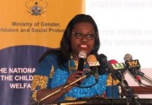 Nana Oye Lithur, Minister for Gender, Children and Social Protection