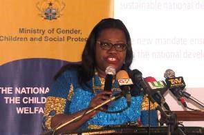 Nana Oye Lithur, Minister for Gender, Children and Social Protection