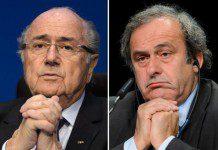 Sepp Blatter and Platini