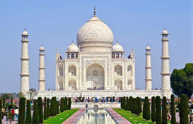 The Taj Mahal is a Unesco World Heritage site