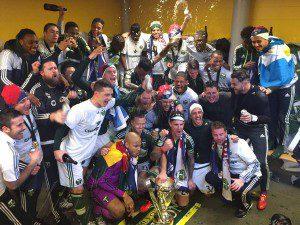 Adam Kwarasey expresses his joy over MLS title triumph