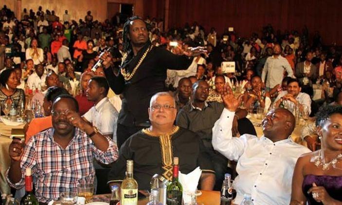 Bebe Cool performing at the Friends of Bebe Cool concert at Serena Hotel Kampala last year