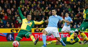 Norwich 0-3 Manchester City