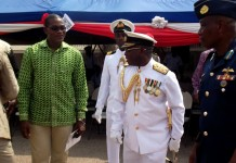 former Chief of Defence Staff (CDS), Vice Admiral Matthew Quashie
