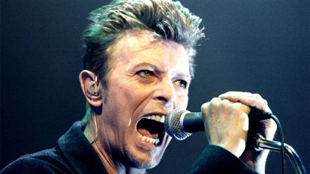 Bowie's last live performance was in 2006.