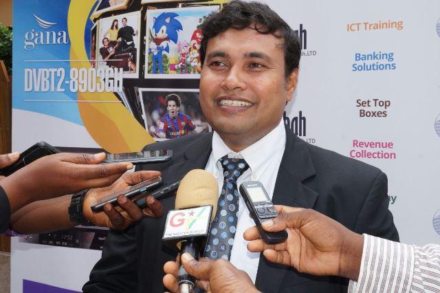 Managing Director Birendra Sasmal