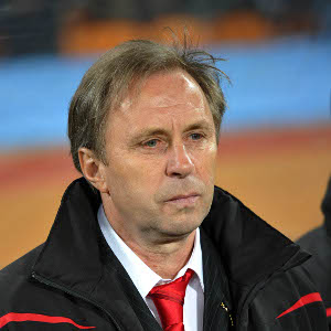 Serbian tactician Milovan Rajevac