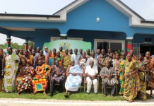 Petroleum Minister Meets with Western Regional House of Chiefs