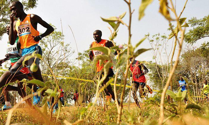 Ugandan athletes in action