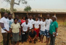 With Akosombo RC Sch Staff and Father