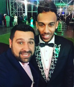 2015 African Player of the Year Aubameyang