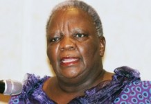 Former Speaker of the National Assembly, Margaret Nasha