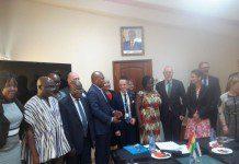 Education Minister receives Finish delegation