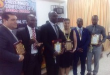 Awardees at the iSTEAMS conference in Accra