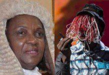 Justice Georgina Theodora Wood and Anas Aremeyaw Anas
