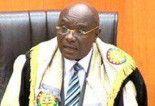 Edward Doe Adjaho, Speaker of Parliament