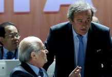 File photo of Blatter and Platini.