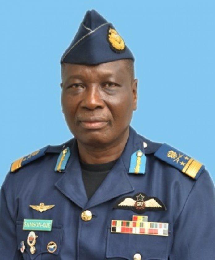 Chief of Defence Staff, Air Marshal Michael Samson-Oje