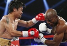 Manny Pacquiao fights Timothy Bradley.