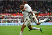 Andre Ayew Swansea August 2015