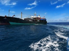 File photo taken on May 13, 2015 shows the workboat of a Chinese archaeological team for the archaeological work of the Shanhu Island No. 1 shipwreck in the Xisha archipelago in the South China Sea.(Xinhua)