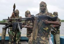 AFP/File / Pius Utomi Ekpei Nigerian militants wreaked havoc on the country's oil sector in the 2000s