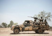 AFP/File / Stefan Heunis Nigeria is seeking closer military cooperation with regional and Western powers to bring to an end nearly seven years of violence in the remote northeast which has left at least 20,000 people dead