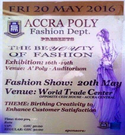 Fashion Students In Accra Poly To Hold Talent Exhibition News Ghana