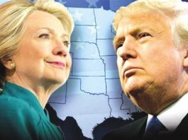 According to the NBC News/SurveyMonkey online tracking poll, Clinton's margin over Trump narrows from five points last week to three points this week to 48 percent to 45 percent. [File photo]