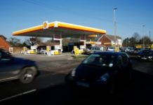AFP/File / Adrian Dennis Royal Dutch Shell said profit after tax stood at $484 million in the January-March period, down from $4.43 billion in the first quarter of 2015