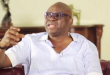 Governor Ayodele Fayose's account has been frozen by the EFCC.