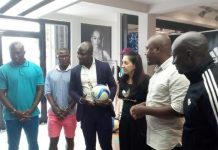 Vodafone unity match reps with CEO Adidas