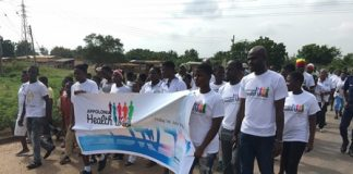 Appolonia walks together for Good Health