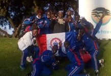 The University of Education, Winneba (UEW) team which placed 5th in the games.