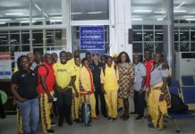 Ghana's Olympic Team Leaves Home For Rio