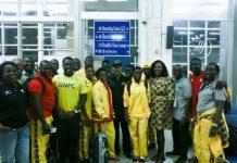 Ghana's Olympic Team Leaves Home For Rio