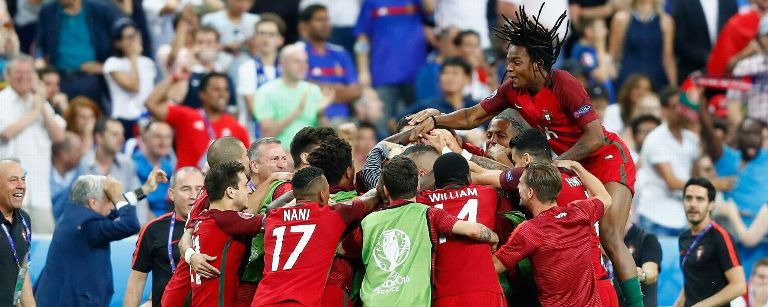 Portugal returns home after 2016 Euro win