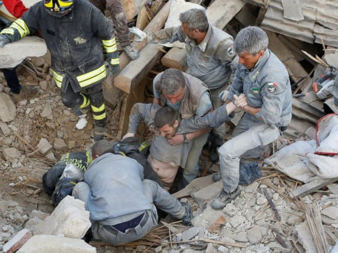 earthquake in Italy