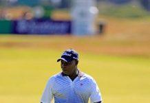 Golfer Amos Korblah