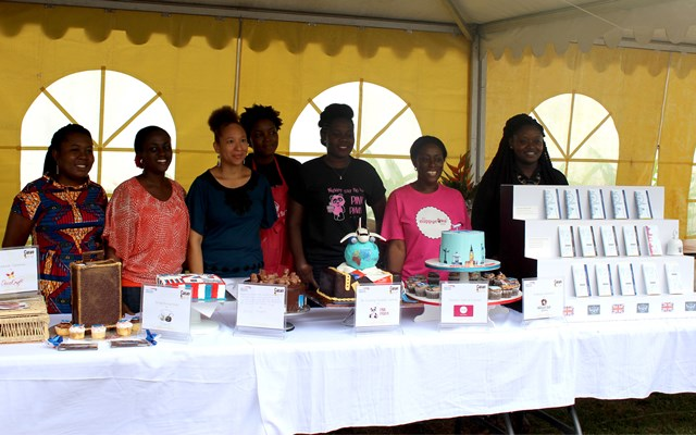 Contestants and their creations
