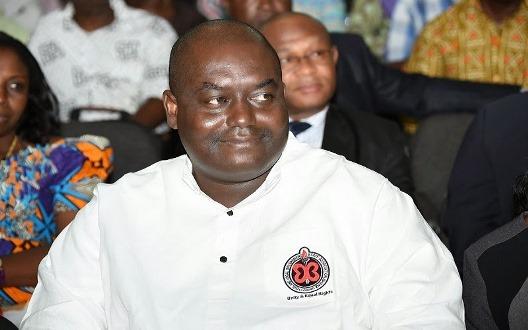 Executive Secretary of CLOGSAG, Dr. Isaac Bampoe Addo