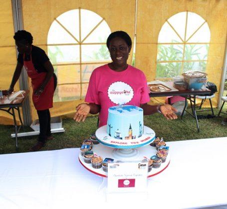 Rita of Cuppycake House and Winning Cake