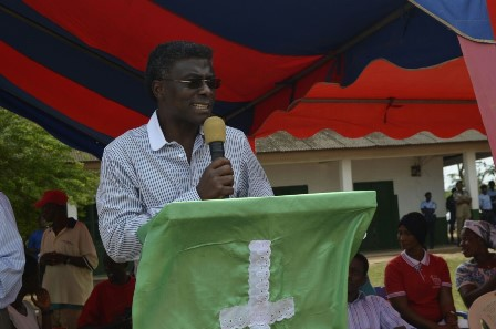 The Head Pastor of the Trinity Baptist Church (TBC), Reverend Kingsley Appiagyei