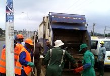 National Sanitation Day clean-up exercise