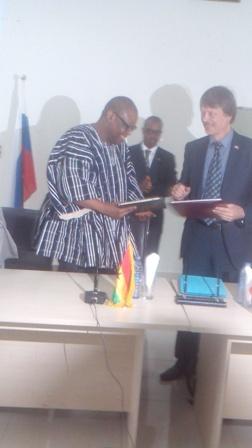 Ghana- Russia cooperation