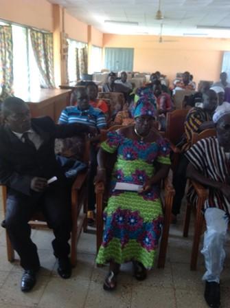 Upper East political stakeholders