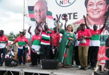 The Awutu-Senya West constituency National Democratic Congress (NDC) branch campaign