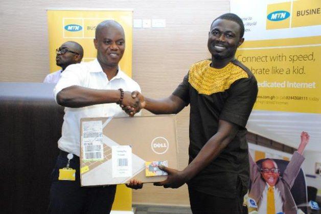 2nd Position Winner Mr. Godwin Asare